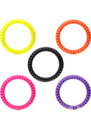 Rock Rings Roadies Silicone Cockrings Xtra Large Assorted...