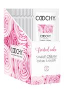 Coochy Oh So Smooth Shave Cream Frosted Cake Foils 24...