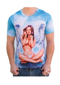Angel Girl Mens T Shirt - Xl
