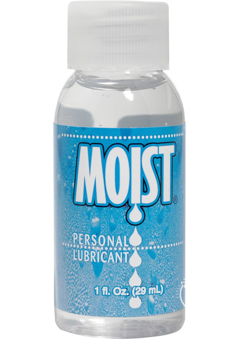 Moist Personal Water Based Lubricant 1 Ounce